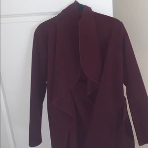 Tie waist jacket